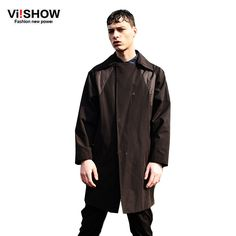 Windbreaker Jacket Men Trench Coat European Street Style Men Straight Long Sleeve Outwear Mens Clothing | $ 131.69 | Item is FREE Shipping Worldwide! | Damialeon | Check out our website www.damialeon.com for the latest SS17 collections at the lowest prices than the high street | FREE Shipping Worldwide for all items! | Get it here http://www.damialeon.com/viishow-new-windbreaker-jacket-men-trench-coat-european-street-style-men-straight-long-sleeve-outwear-mens-clothing/ |      #damialeon…