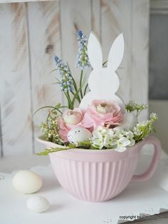 Items similar to spring decoration easter arrangement on etsy spring . - Items similar to spring decoration easter arrangement on etsy Spring decoration Easter - Bunny Crafts, Easter Crafts, Easter Decor, Hoppy Easter, Easter Bunny, Spring Crafts, Holiday Crafts, Spring Decoration, Easter Traditions