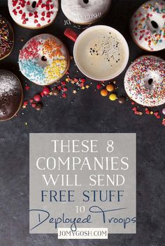 These 8 Companies Will Send Free Stuff to Deployed Troops – Deployment gifts - -