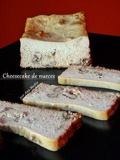 Receta de tarta de queso con nueces, sin azúcar, sin harinas, sin gluten #LowCarb #Diabetes