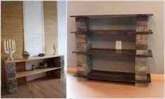 15 Απίθανες DIY Ιδέες ραφιών εμφάνισης για το σαλόνι σας | SunnyDay