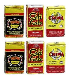 cafe rico   The Best of Puerto Rico and in the photo is missing cafe mami