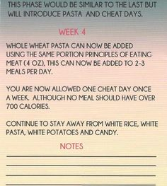Black Girls Workout Too!  meal plan Page7