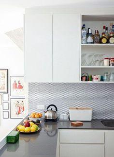 36 Cozinhas Decoradas com Pastilhas - Fotos e Aplicações