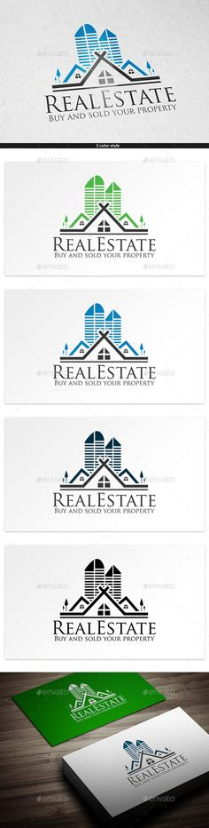 Buy Pyramid Real Estate by colorfuldesign on GraphicRiver. Logo Template Features Vector logo Resizable for easy editing AI, EPS files CMYK color CS format fully editable font . Logo Design Template, Logo Templates, Design Art, Graphic Design, Art Designs, Building Logo, Real Estate Logo Design, Real Estate Investor, Home Logo