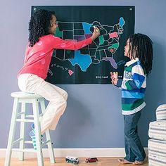 Make a Chalkboard Travel Map (via FamilyFun Magazine)