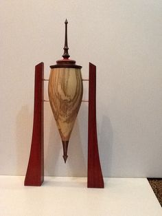 Beautiful woodturning by artisan Steve Abshear