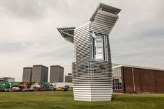 La torre en Rotterdam que es capaz de eliminar el 75% de los contaminantes atmosféricos. 01/03/16