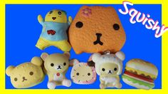 HUGE Squishies Package MY 1st Squishies Haul Squishy Collection Videos K...