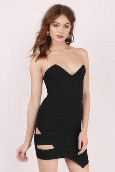 Tell It Like It Is Bodycon Dress at Tobi.com | #SHOPTobi | #LittleBlackDress |