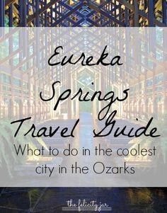 What to do in the coolest city in the Ozarks, including the best Mexican restaurant in town, our ghost tour recommendation, and our thoughts on the Christ of the Ozarks // The Felicity Jar