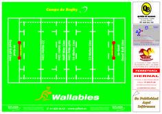 Mantel Publicitario - Wallabies Burguer