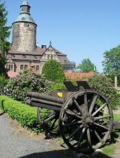 Zamek Czocha i armata