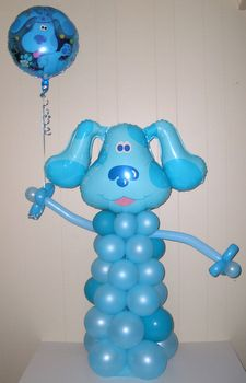 Blue's Clues Balloon Character - I wouldn't buy it, but I bet I could make one!
