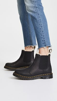93373b41c2f1 Dr. Martens Leonore Sherpa Chelsea Boots
