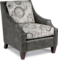 Shop Conway Furniture today and view our selection of living room furniture including our Lazboy Gatsby accent chair. Click now or stop into our Listowel location! La Z Boy, Contemporary Chairs, Pattern Mixing, Different Fabrics, Table And Chairs, Living Room Furniture, Home Furnishings, Stationary, Accent Chairs