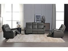 Canapé de relaxation électrique 3 places NLK Coloris gris prix promo Canapé Conforama 1 700.00 €