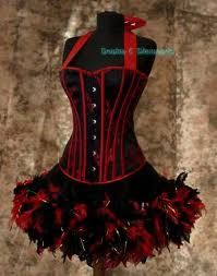 I'd love to have a Moulin Rouge costume!