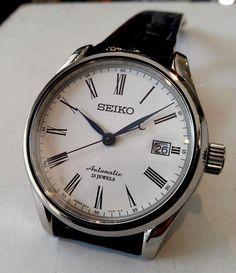 Watches I Saw – Seiko Presage and Orient Star Seiko Presage, Orient Watch, Seiko Automatic, Seiko Watches, I Saw, Fashion Watches, Omega Watch, Watches For Men, Clock