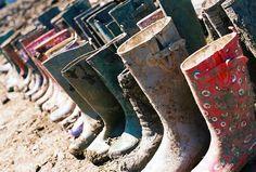 Muddy Wellies!
