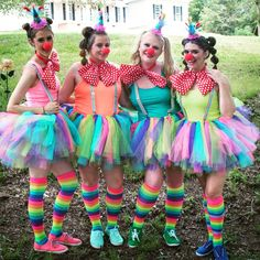 clown outfitDIY clown outfit Halloween Circus Clown Costume Harley Quinn Cosplay Fancy Party Dress for Women Online Shop MisShow 3 Colors Rainbow Tulle Skirt Baby Girls Tutu Skirts Petticoats Kids Underskirt One Layer Puffy Skirt 2019 Mint Dress