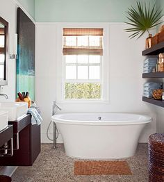 """Your Bathtub Any standing water that lingers after a shower or bath breeds mold, fungi, and staph bacteria.  Clean it:  Disinfect regularly, -- up to three times weekly for tubs used daily by multiple family members. To do so, Harmon recommends filling a spray bottle with a product that contains at least 3 percent hydrogen peroxide, and keeping that near the tub. Lightly mist a dry tub, and you're done. """"No need to wipe it up because hydrogen peroxide evaporates quickly,"""" Harmon says."""