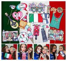 Hey, I found this really awesome Etsy listing at https://www.etsy.com/listing/200818918/italy-photo-booth-props-perfect-for-your