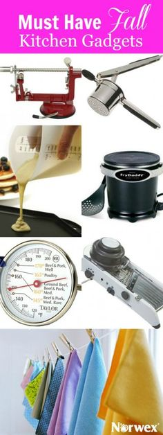 Must Have Fall Kitchen Gadgets that'll save you time and money to make life more enjoyable.