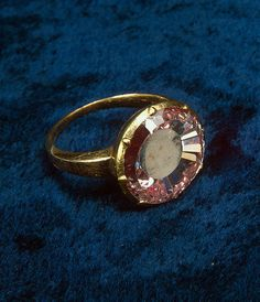 JEWELS OF THE ROMANOVS~ The ring with a portrait of Peter I The Great, beginning of the 18th century.