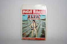 Vintage RCA Camden Elvis Separate Ways 8 Track Stereo Cartridge Cassette Music by Fashion4Nation on Etsy