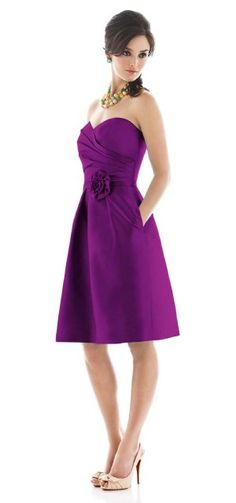 I love this dress!  ALFRED SUNG STYLE D496 BRIDESMAID DRESS