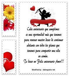 saludos de aniversario,frases de aniversario,buscar frases de aniversario: http://www.datosgratis.net/mensajes-de-aniversario-para-mi-amor/