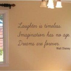 Wall decor.  For my Disney spare room