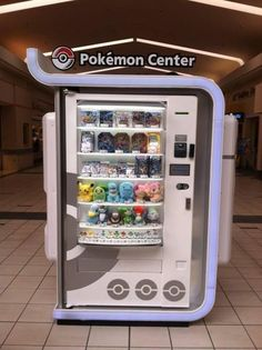 Pokemon Center! Yes!