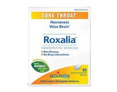 Boiron Roxalia Tablets Sore Throat (1x60 Tablets)