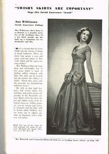 Butterick 8234 | 1939 Evening Dress