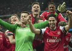 WIG v ARS 1-1 (2-4 pens) FA Cup Semi Final, Wembley Stadium, 12.04.14.