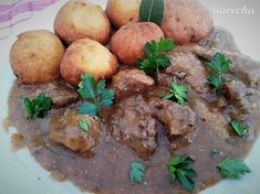Dusené dolné morčacie stehná s vínovou omáčkou (fotorecept) - Recept Beef, Food, Meat, Essen, Meals, Yemek, Eten, Steak