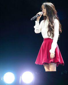 """I&U in Hong Kong 2015 please visit all photos at… Iu Fashion, Asian Fashion, Kpop Girl Groups, Kpop Girls, Korean Girl, Asian Girl, Kpop Outfits, Feminine Style, Ulzzang"