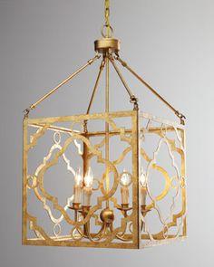 """Soleil"" Golden Pendant by Regina-Andrew Design at Horchow."