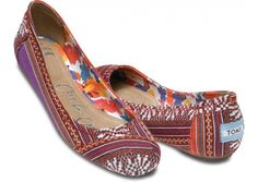 "ShoeDazzle /""Margareth/"" Rows of colorful jewels pop on this ballet flat"