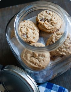soft peanut butter cookies with PEANUT BUTTER-FILLED chocolate chips!!!