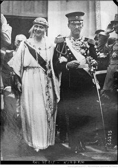 Vencanje Kralja Aleksandra i Kraljice Marije - jun Wedding of King Alexander of Yugoslavia and Queen Maria on June Royal Wedding Gowns, Royal Weddings, Old Pictures, Old Photos, King Alexander, Princess Alexandra, Extraordinary People, Royal Jewels, Royal House