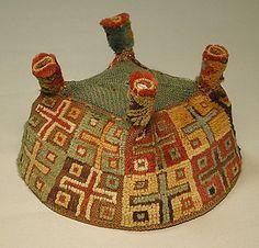 Four-Cornered Hat, 7th-9th centuries. Wari culture, Peru