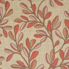 Greenhouse Fabrics, Orange Fabric, Neutral, Clay, Design, Clays, Modeling Dough