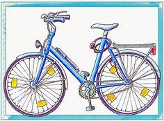 """Ideenreise: Zusatzkärtchen zum Legematerial """"Fahrrad"""" (Gastmaterial)"""