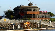 The Crows Nest restaurant on the Santa Cruz Harbor.