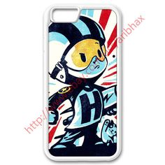 "Custom Case for Iphone 6 4.7"" Retro Vintage Superhero Rocket Kids White #UnbrandedGeneric #iphonecase #iphonecases #phonecase #phonecases #iphone6 #artwork #skeleton #skull #dog #future #cool #colorful #funky #flash #retro #boy #rocket #superhero"