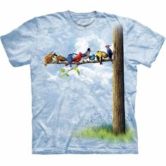 Bird Tree T-Shirt - chirp chirp!