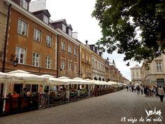 Paseo Varsovia Polonia
